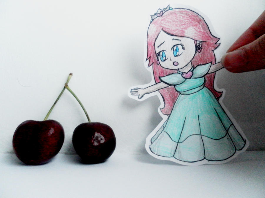 Princess Cherry Paper Child by lillilotus