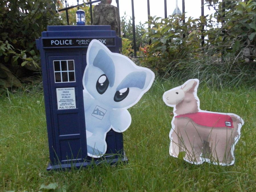 Contest: Fella In The TARDIS by lillilotus