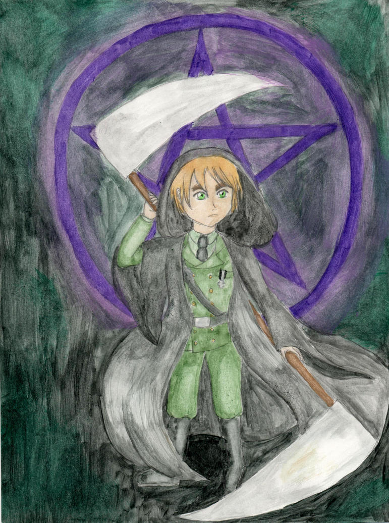 APH - Black Magic by lillilotus