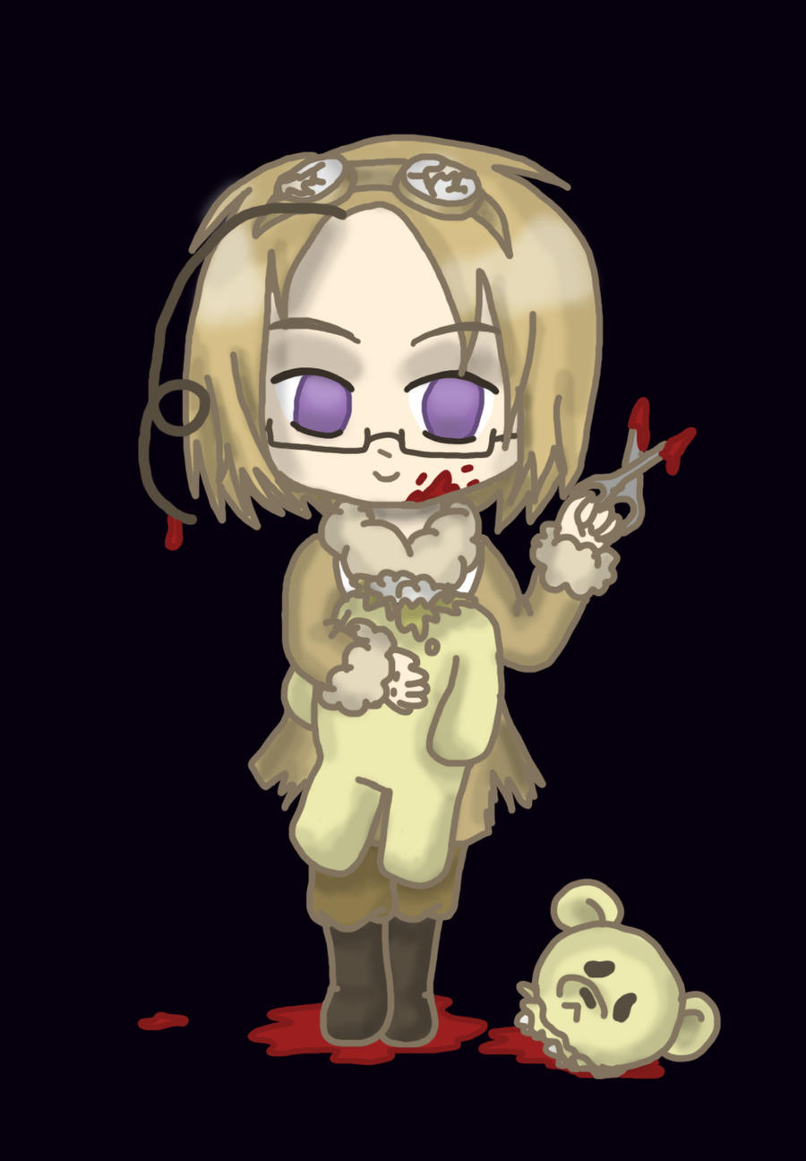 APH Halloween - Bloody Maple by lillilotus