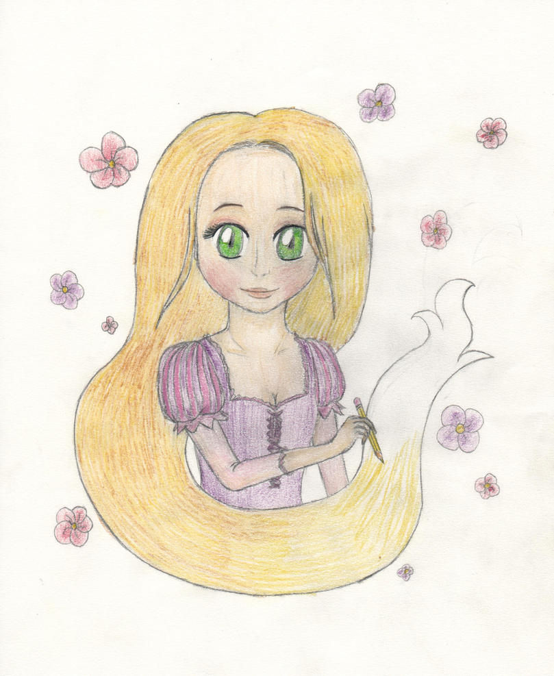 Rapunzel by lillilotus