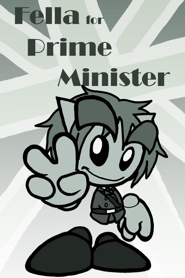 Fella For Prime Minister by lillilotus