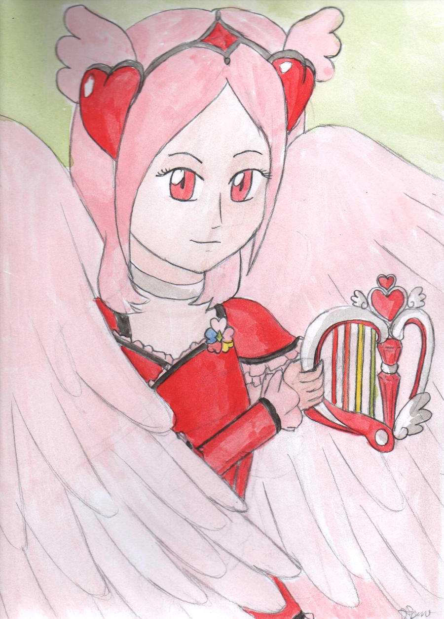Cure Angel Passion Card by lillilotus