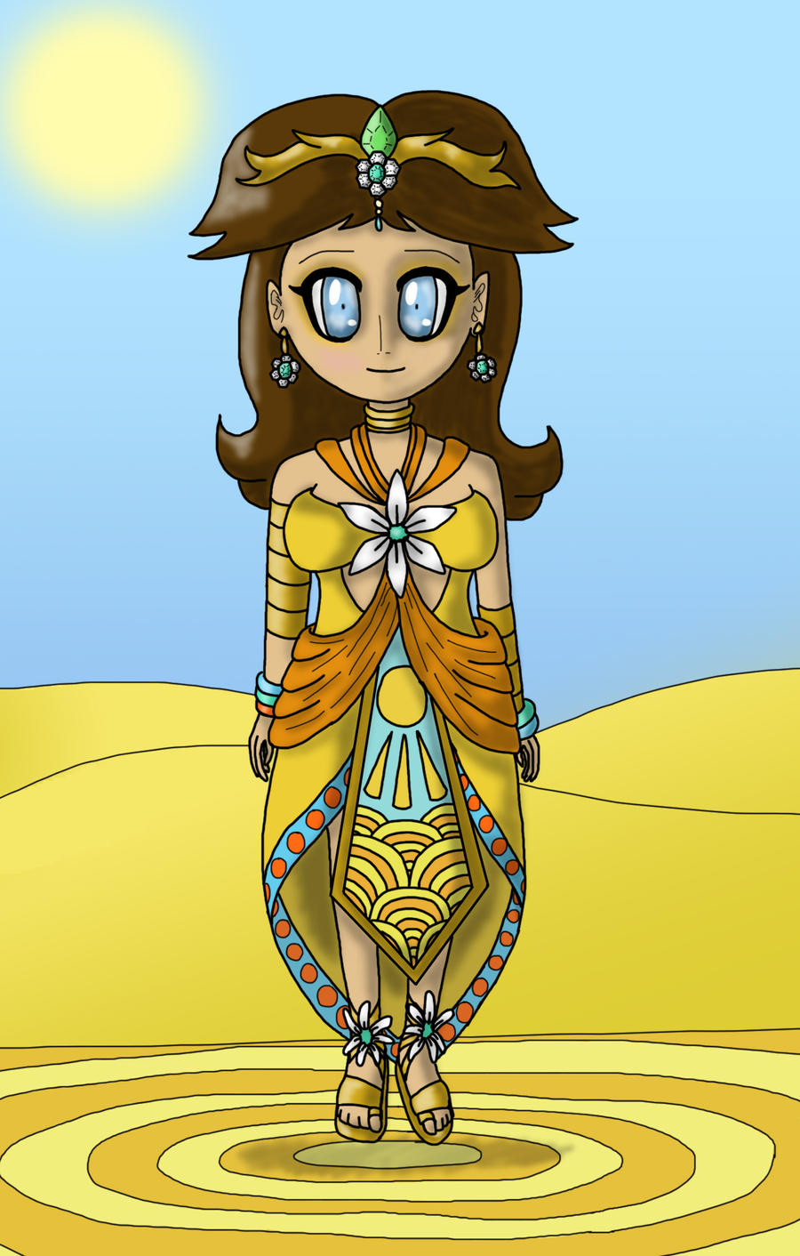 Daisy, Queen Of Sarasaland by lillilotus