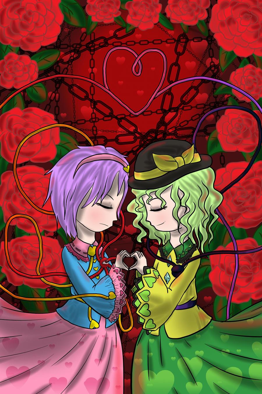 Komeiji Maidens by lillilotus