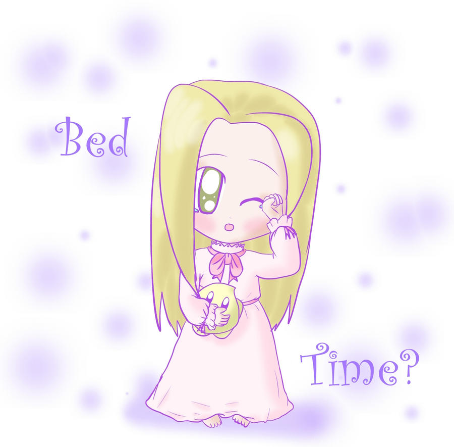 Bed Time Chibi by lillilotus