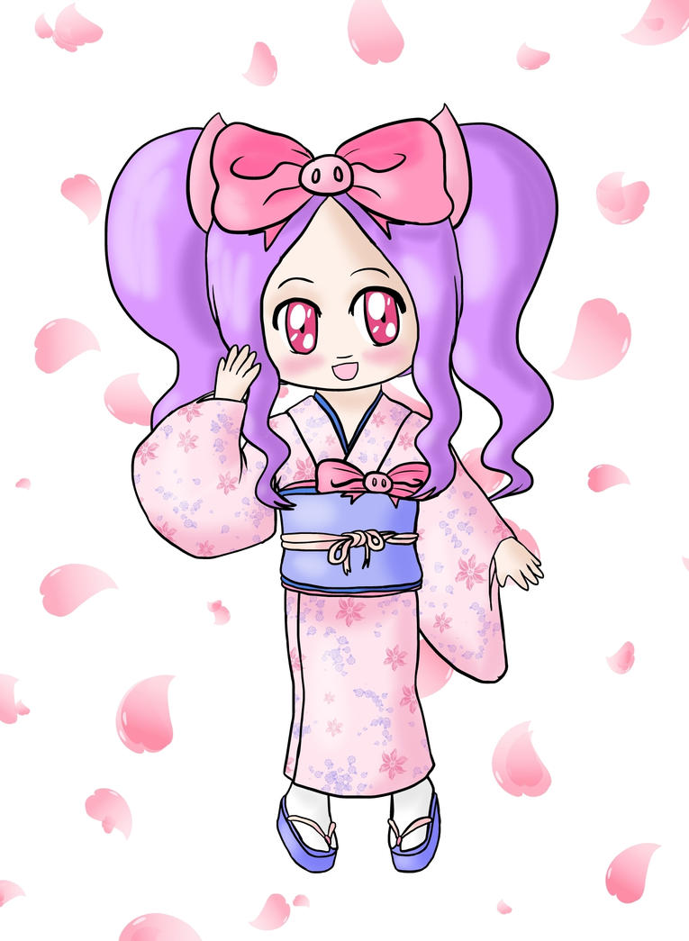 Hamja - Kimono by lillilotus