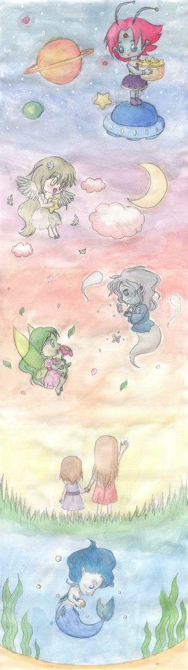 Infinite World by lillilotus