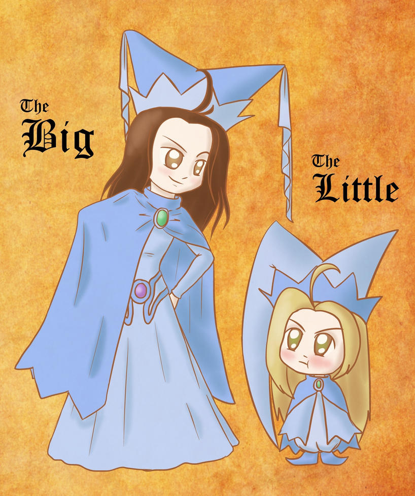 The Big And The Little by lillilotus