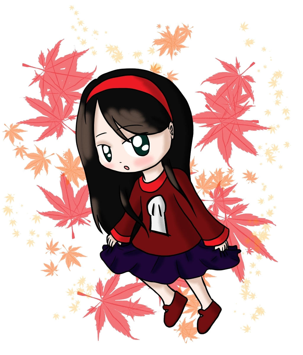 :Art Trade: Autumn Auburn by lillilotus