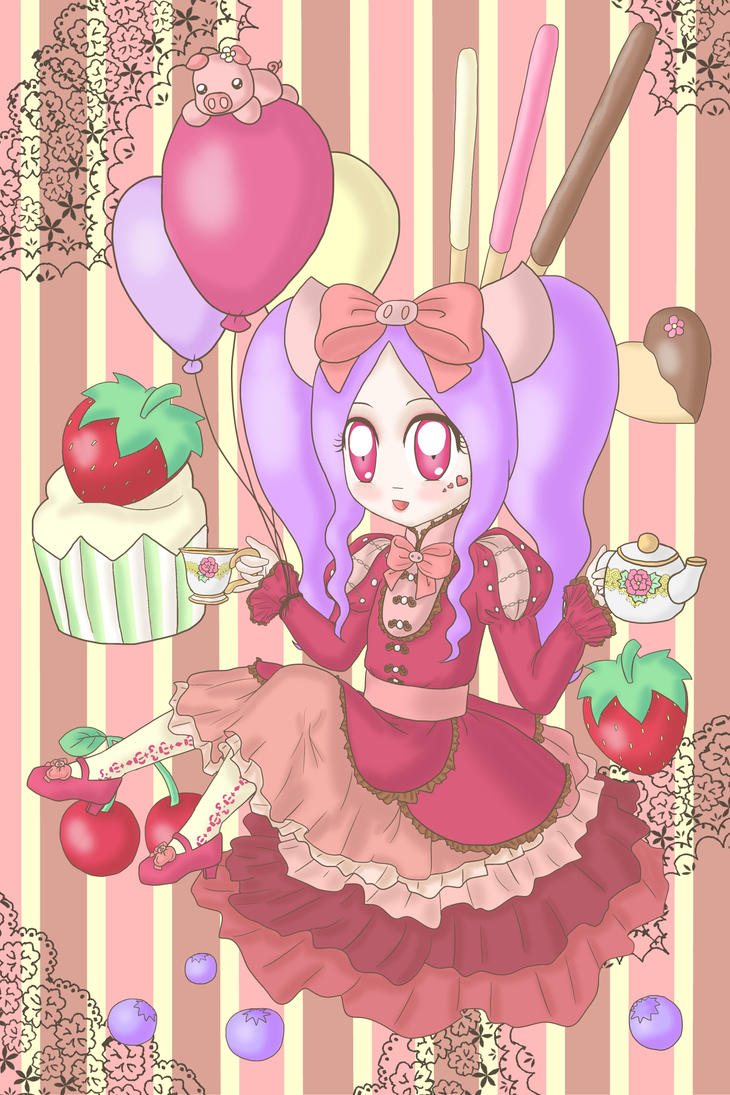 Tea And Cakes by lillilotus