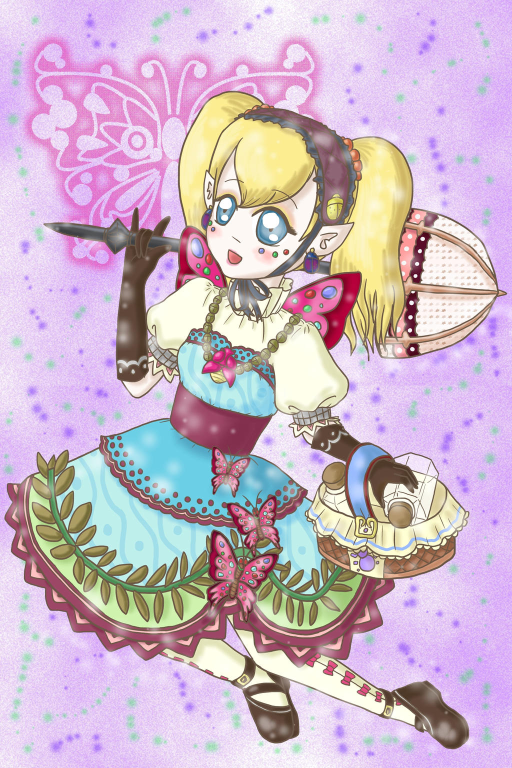 Princess Agitha by lillilotus