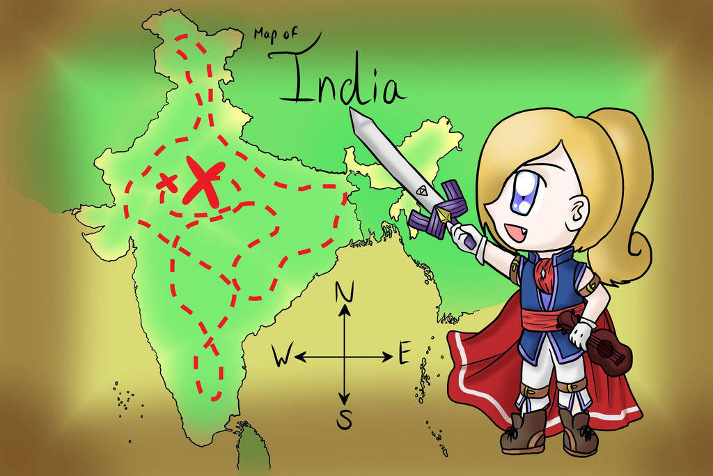 Indian Map of Accuracy by lillilotus