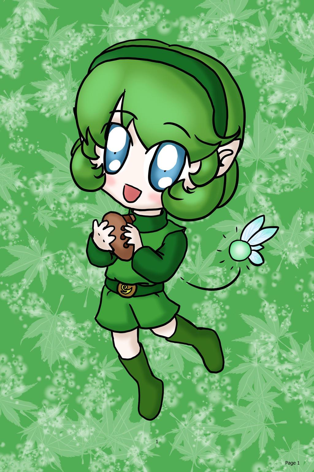 Chibi Saria by lillilotus