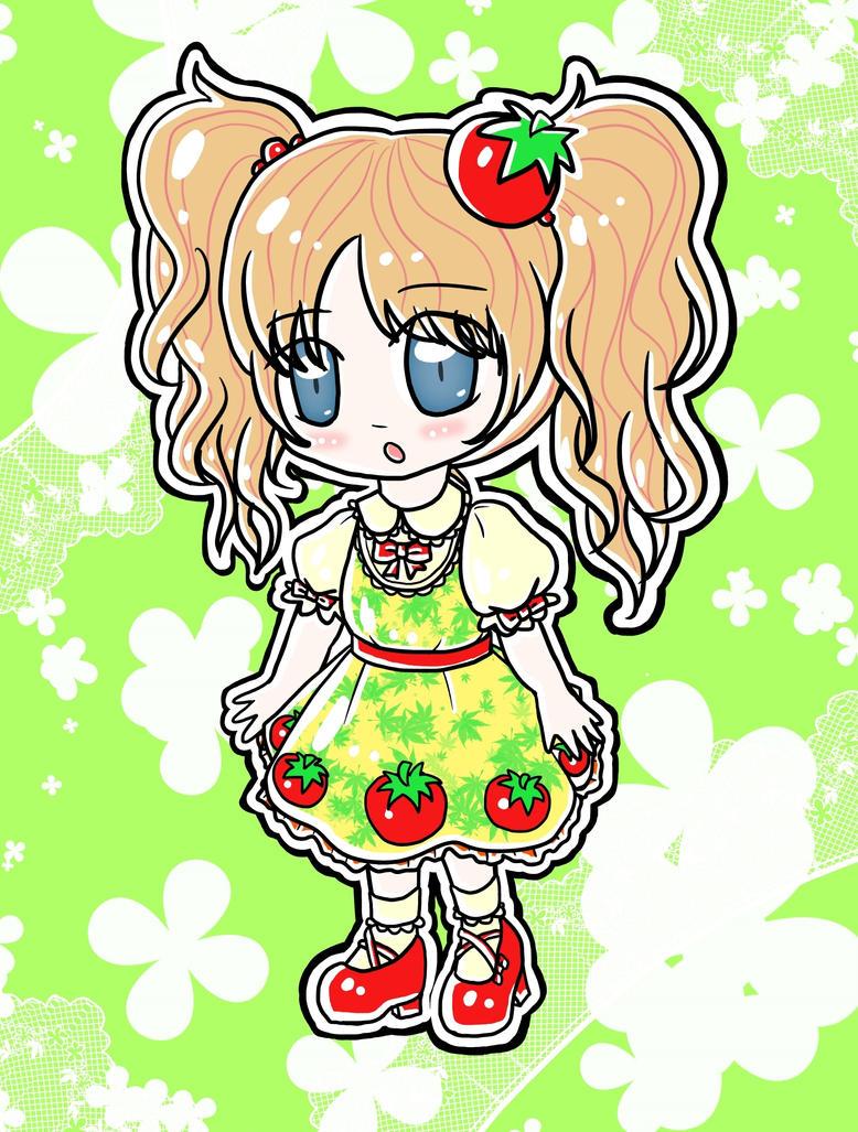 Tomato Lolita (Happy B-Day JoPyon) by lillilotus