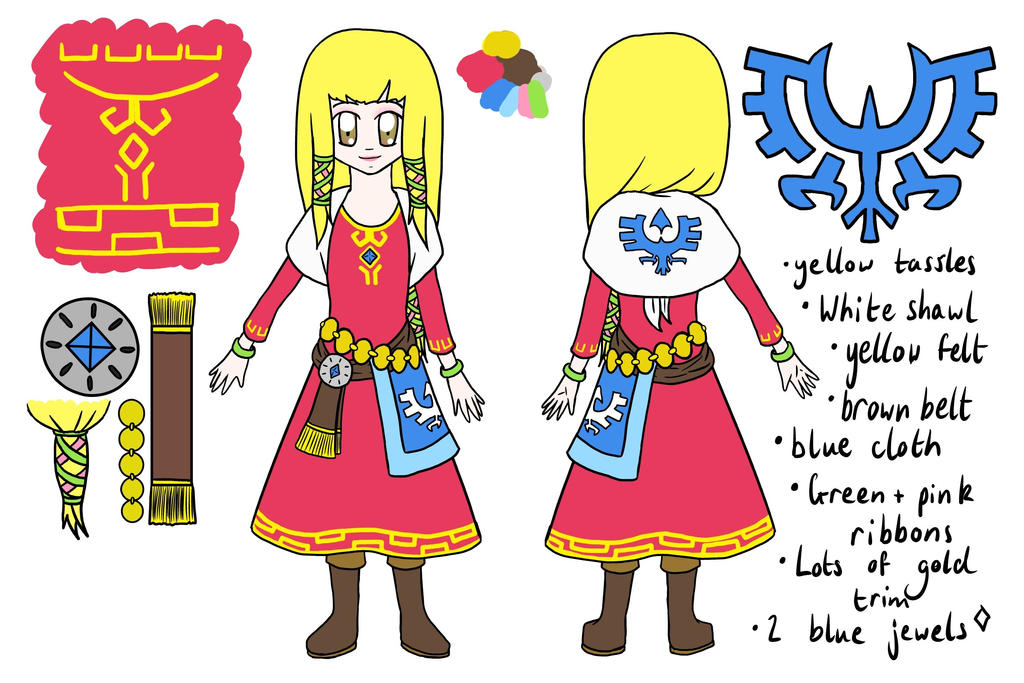 Zelda Cosplay Plan by lillilotus