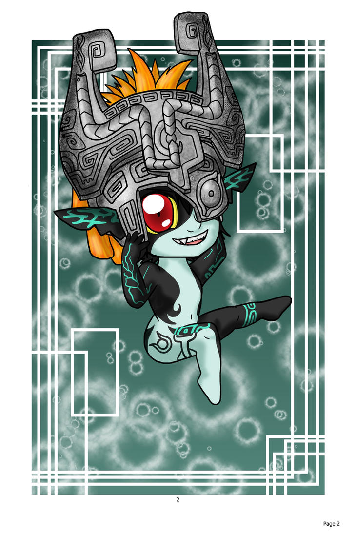 Chibi Midna: Hyrule Warrior by lillilotus