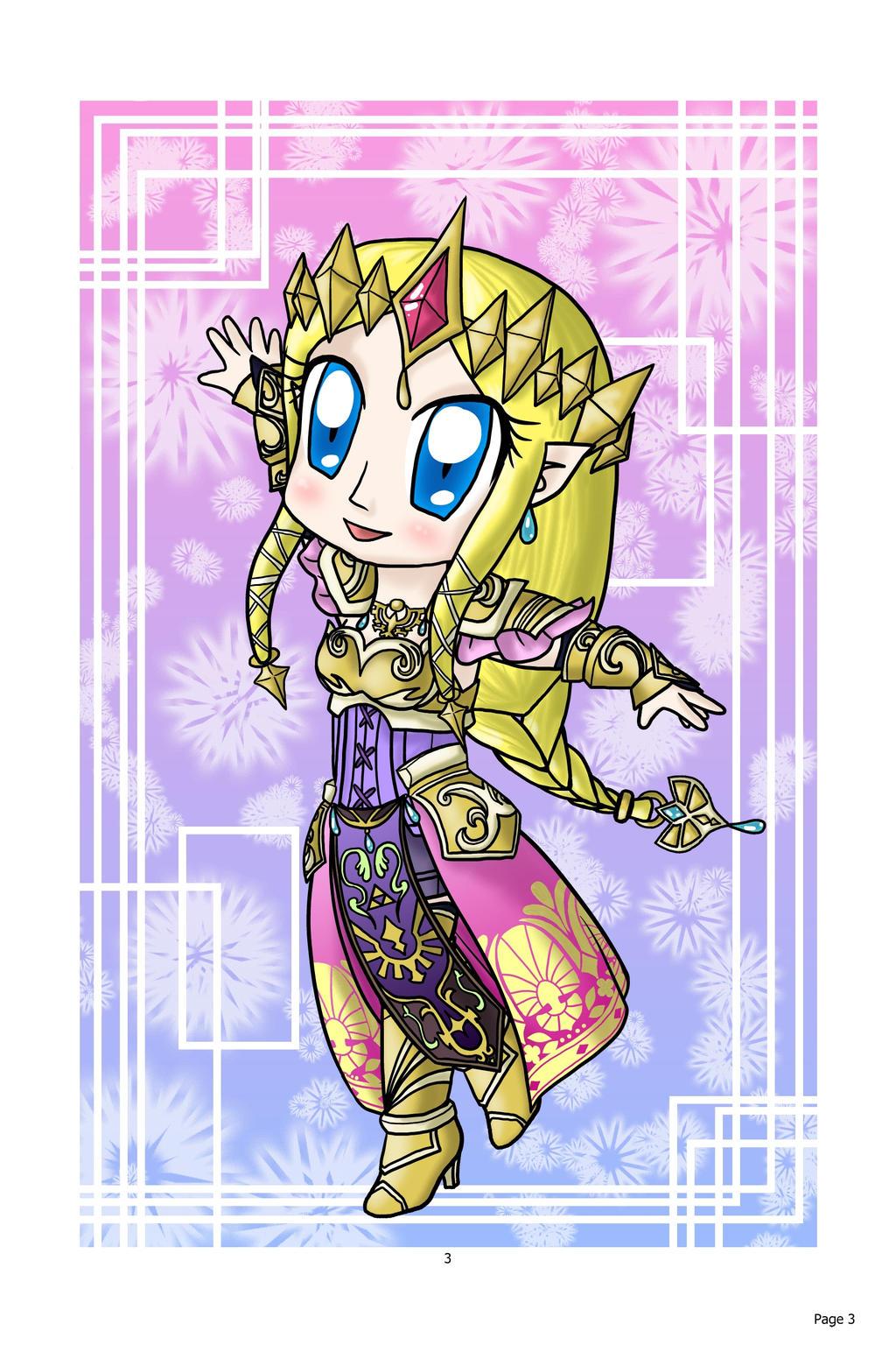 Chibi Zelda: Hyrule Warrior by lillilotus