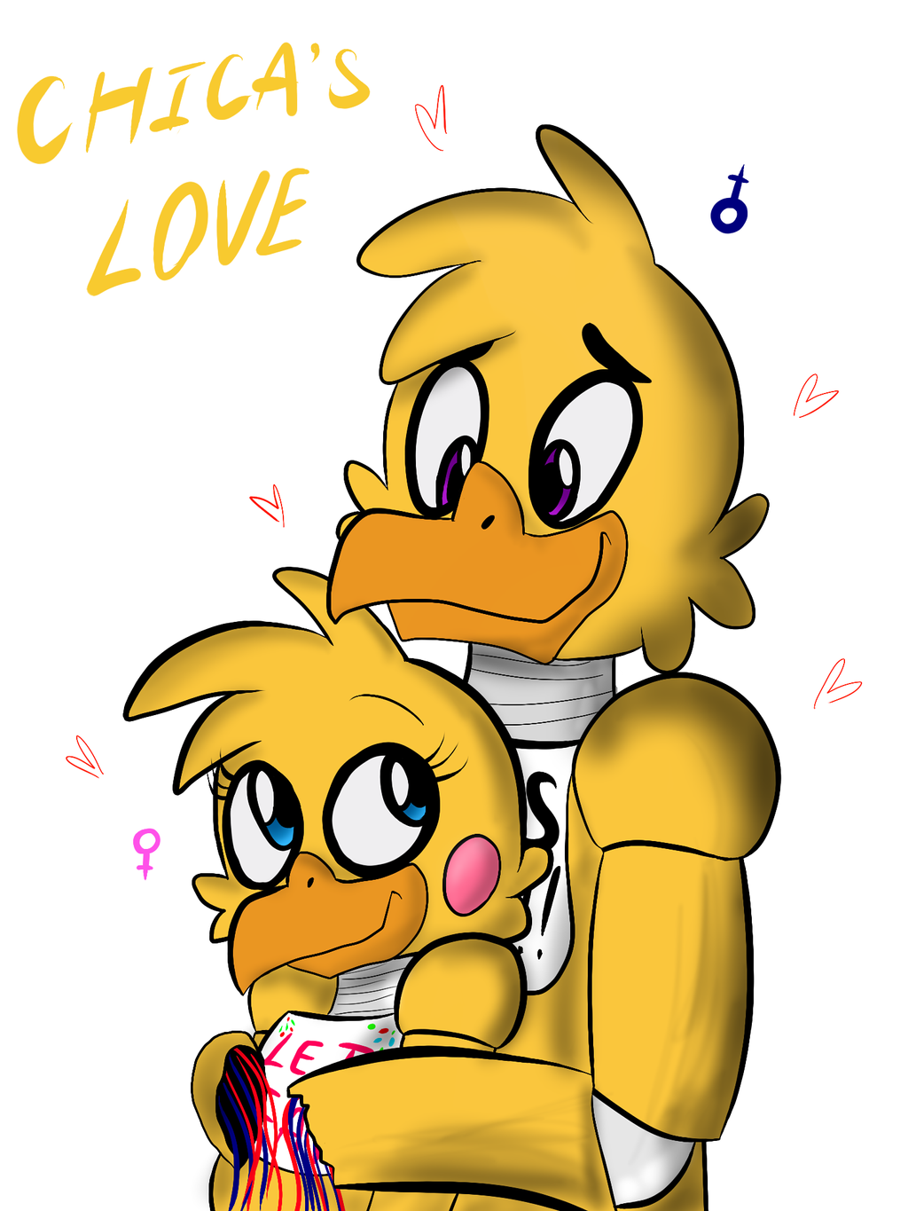 X chica