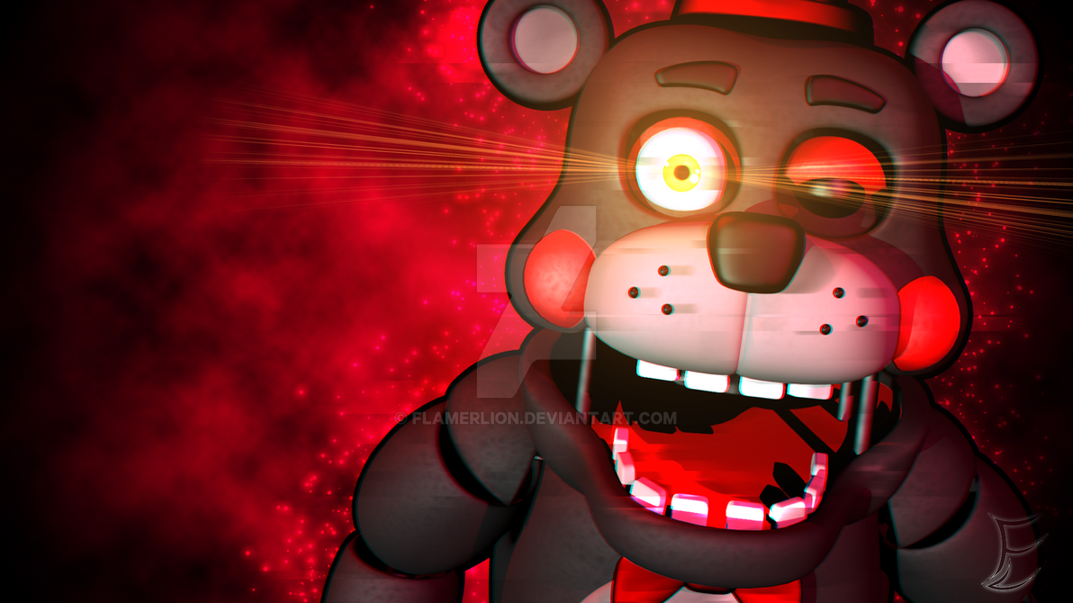 C4d Lefty Wallpaper Fnaf 6 By Ludomcraft Deviantart