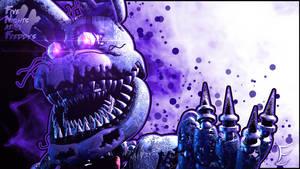 EndyArts's Nightmare Bonnie by FlamerLion