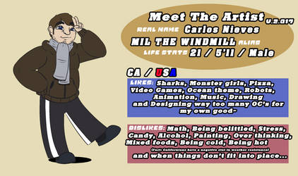 Meet the artist v.2.017 by Mil-The-Windmill