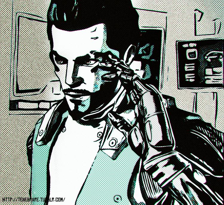Deus Ex HR DC - Adam Jensen by operaghost