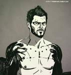 Deus Ex MD - Adam Jensen by operaghost