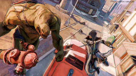 Assassins Creed - Brotherhood of Steel by operaghost
