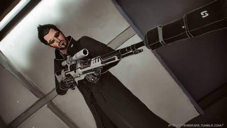 Deus Ex: MD - The Machine God by operaghost