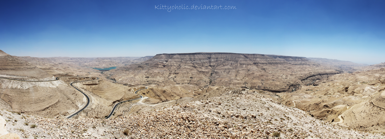 Wadi Mujib by Kittyoholic