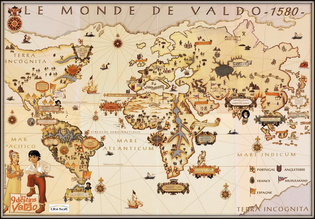 Valdo's World ~ 1580