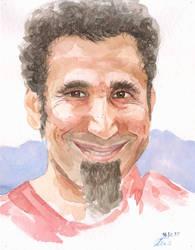 Serj Tankian by sergeymalinov