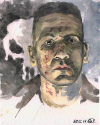 Jon Bernthal as  Punisher by sergeymalinov