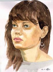 Kate portrait by sergeymalinov