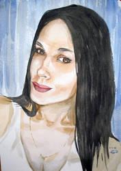 Girl portrait by sergeymalinov