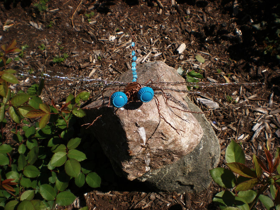 Astrid the Damselfly - Handmaden Designs LLC
