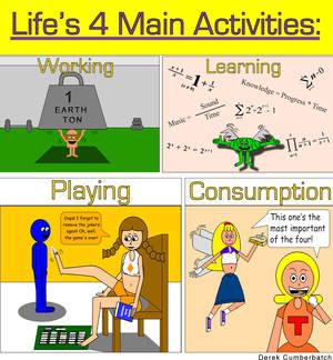 Life's 4 Main Activities