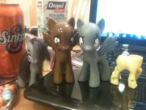 pony WIPs by FireflyLC