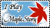 Maple Story Stamp by Gehdahnia
