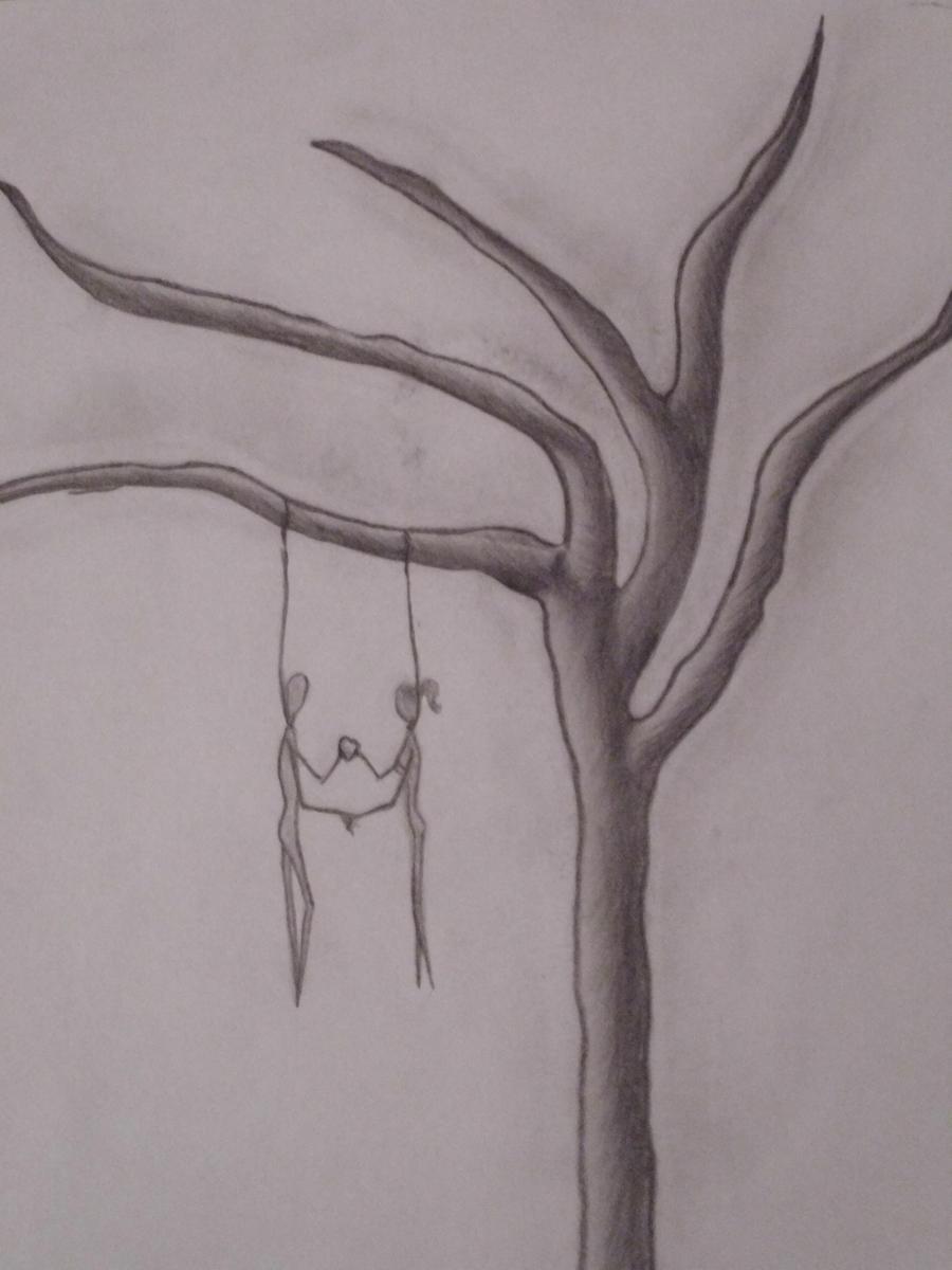 Depressed wolf drawing - photo#27