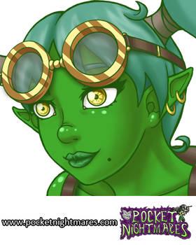 Goblin Tinkerer Portrait