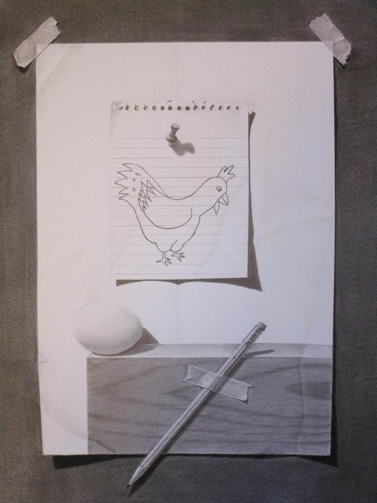 Trompe l'Oeil #2 by TomaszLam