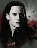 Loki - Raven King by Darkellaine