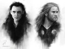 Brothers by Darkellaine