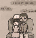 The Walking Dead - Clementine and Lee