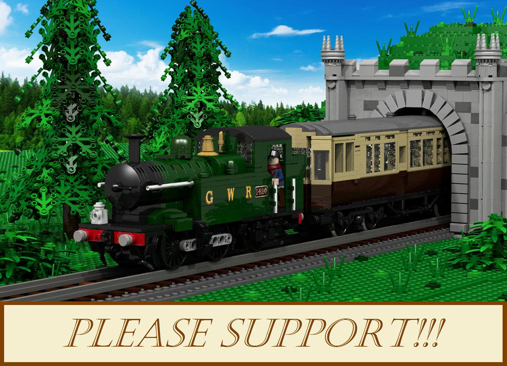 Your support needed: Lego Ideas Project: GWR 14xx by ScotNick on ...