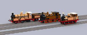 LBSCR engines