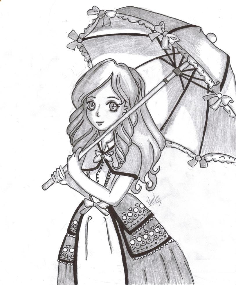 Victorian Girl by Stardroper
