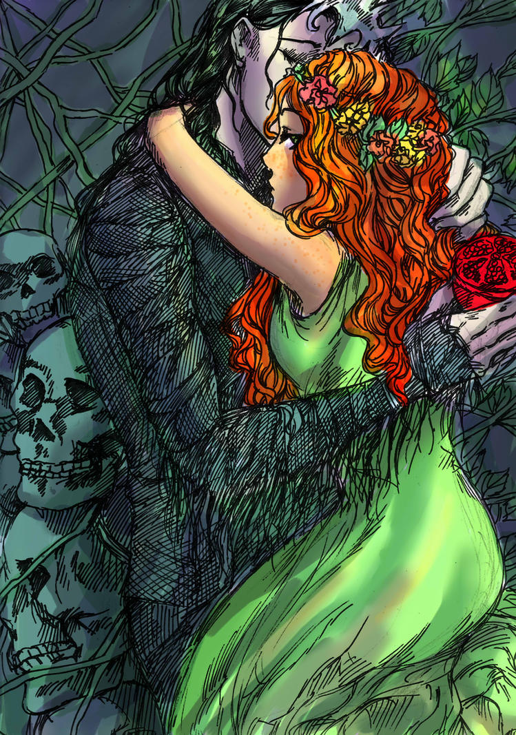 Persephone Comic Hades and Persephone by